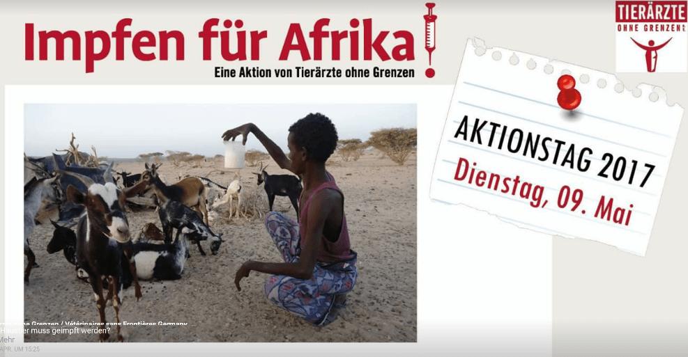 Impfen für Afrika Aktionstag beim Tierarzt